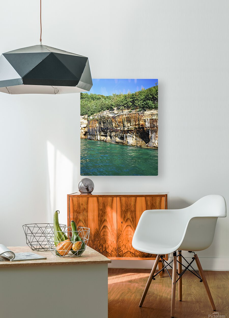 0222  HD Metal print with Floating Frame on Back