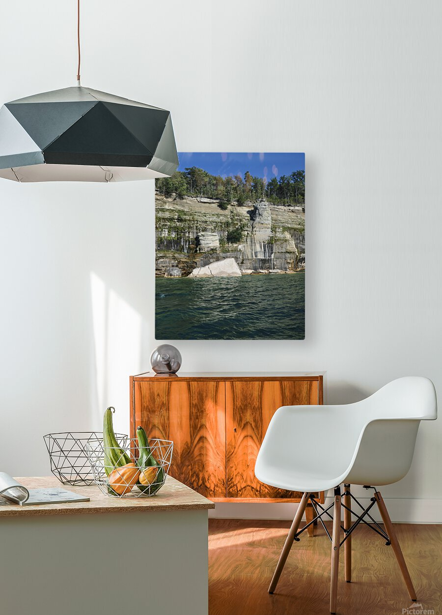 0234  HD Metal print with Floating Frame on Back