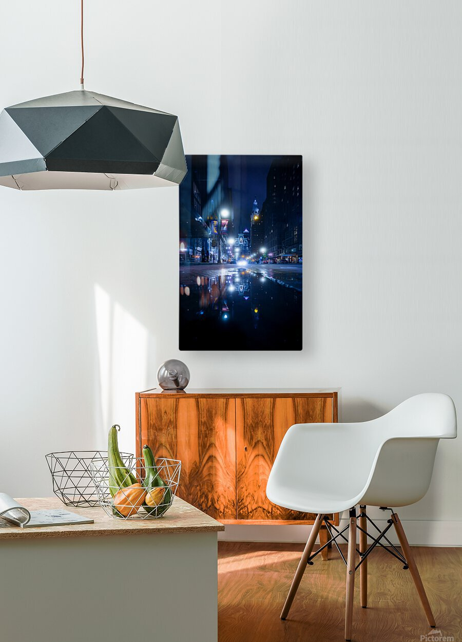 Mirrorverse  HD Metal print with Floating Frame on Back