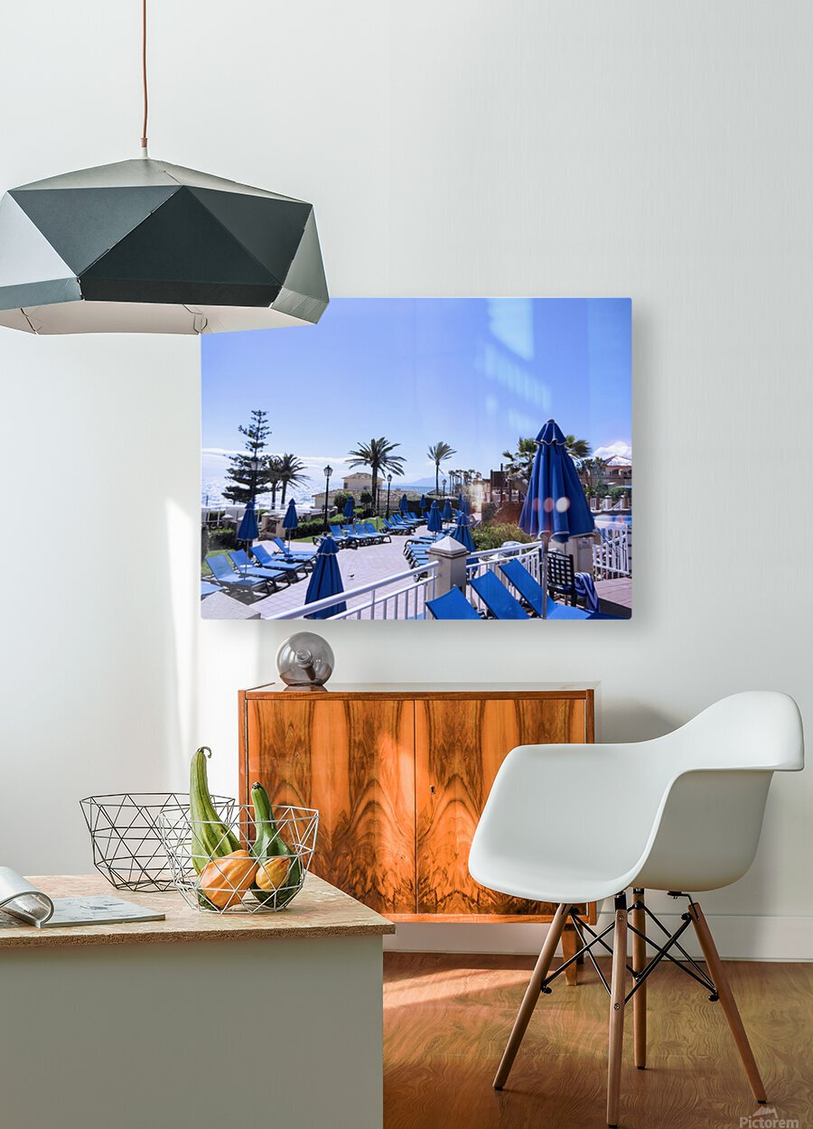 Costa del Sol Andalusia Spain 3 of 4  HD Metal print with Floating Frame on Back