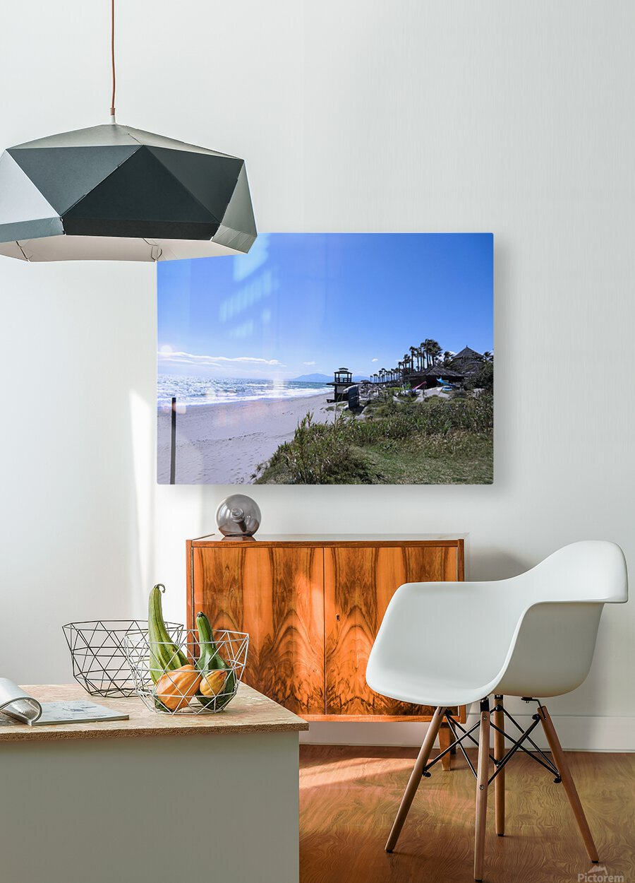 Costa del Sol Andalusia Spain 4 of 4  HD Metal print with Floating Frame on Back