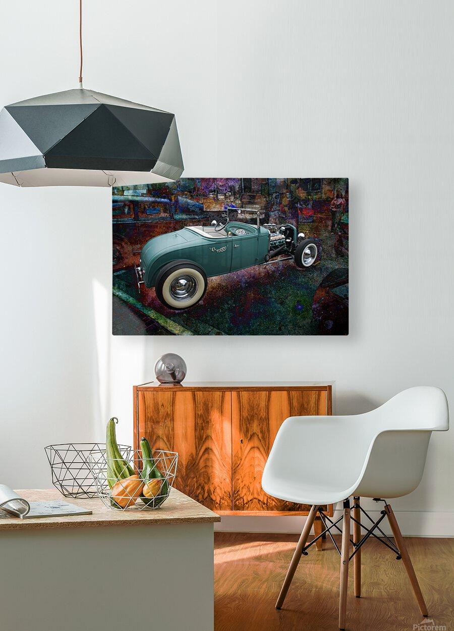 El Torro  HD Metal print with Floating Frame on Back