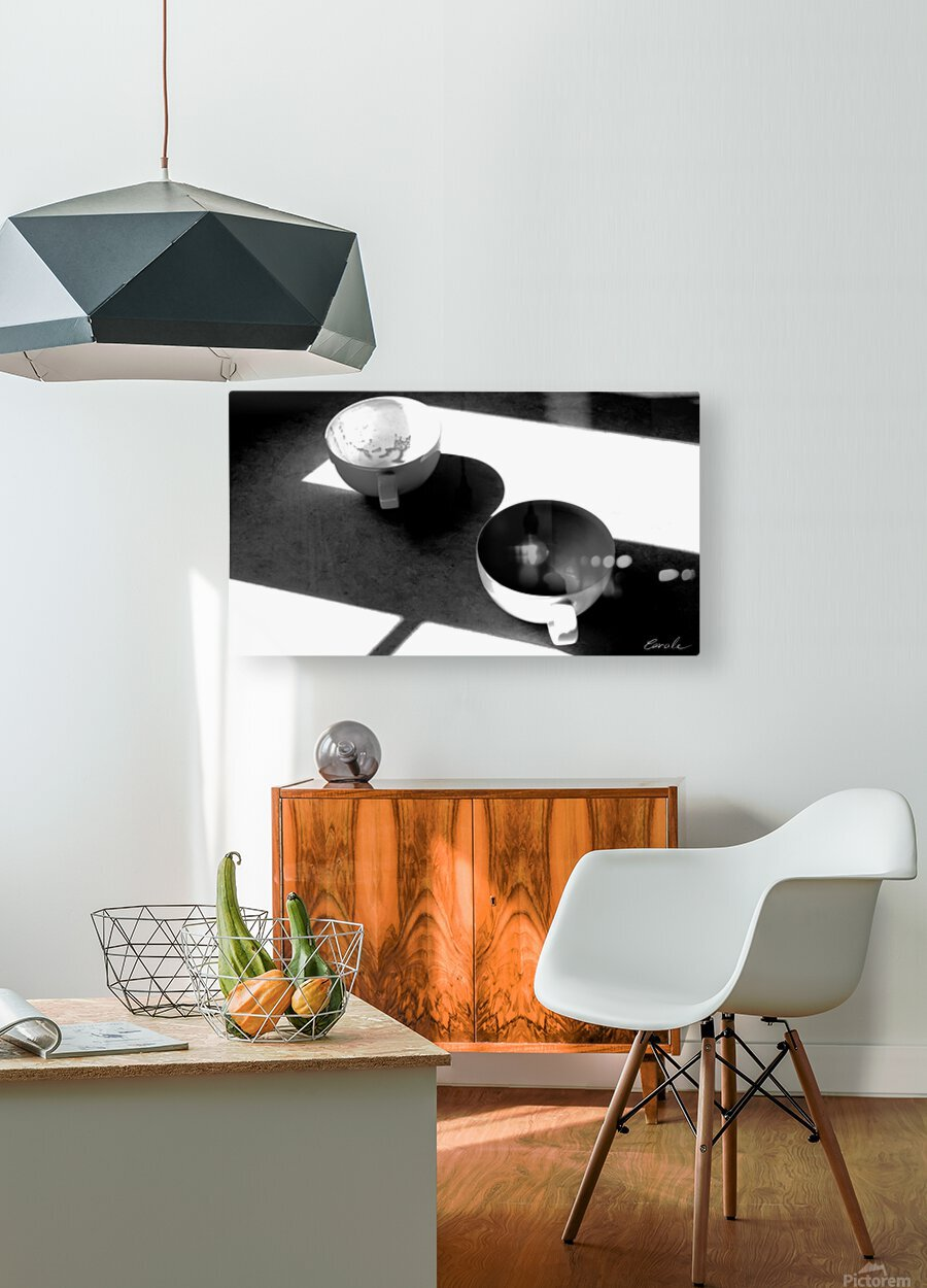 Un Amour Consomme - A Consumed Love  variation 4 NB  HD Metal print with Floating Frame on Back