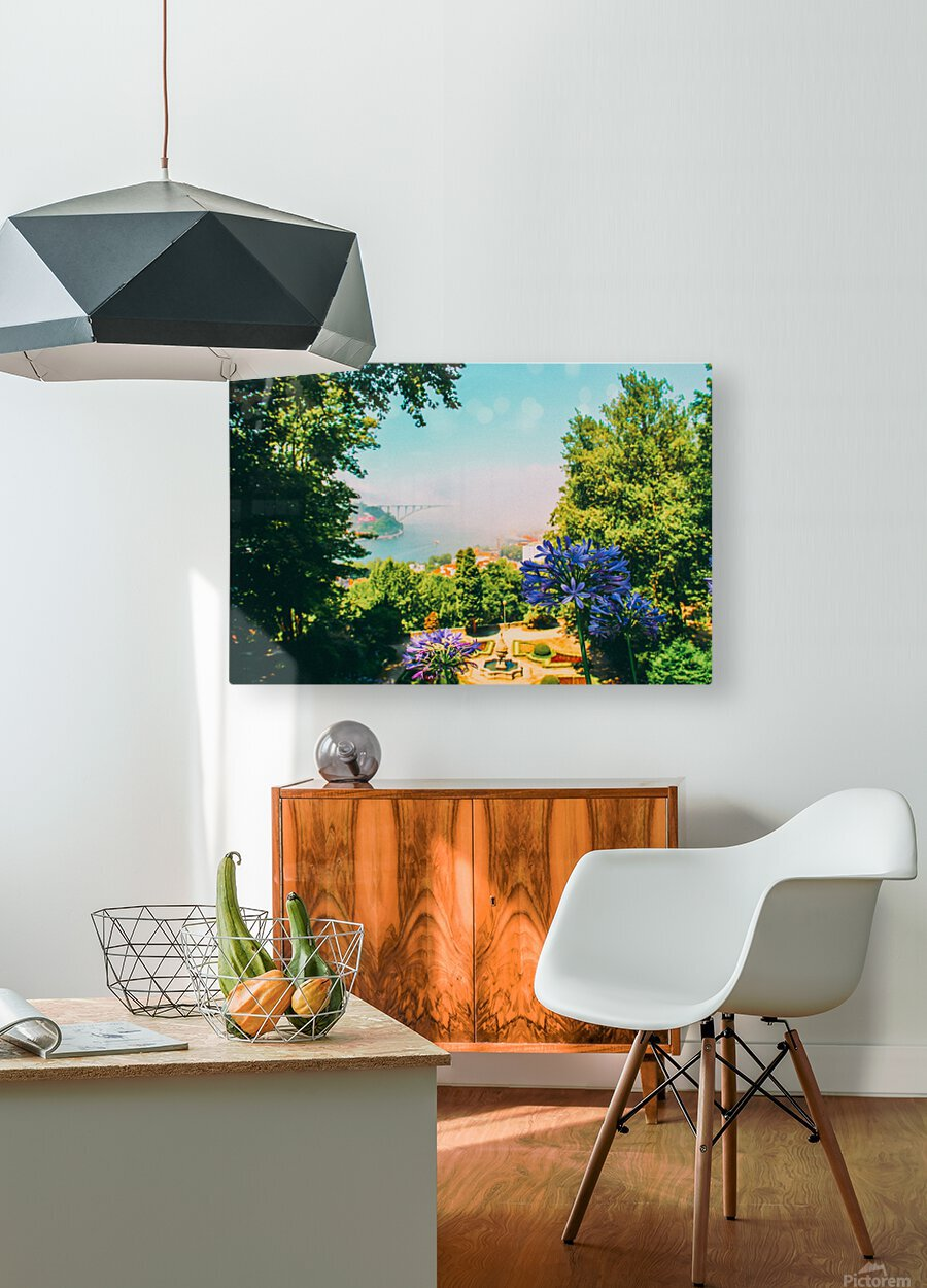 Photobook 7567  HD Metal print with Floating Frame on Back