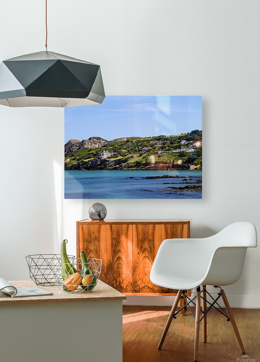 Howth Ireland  HD Metal print with Floating Frame on Back