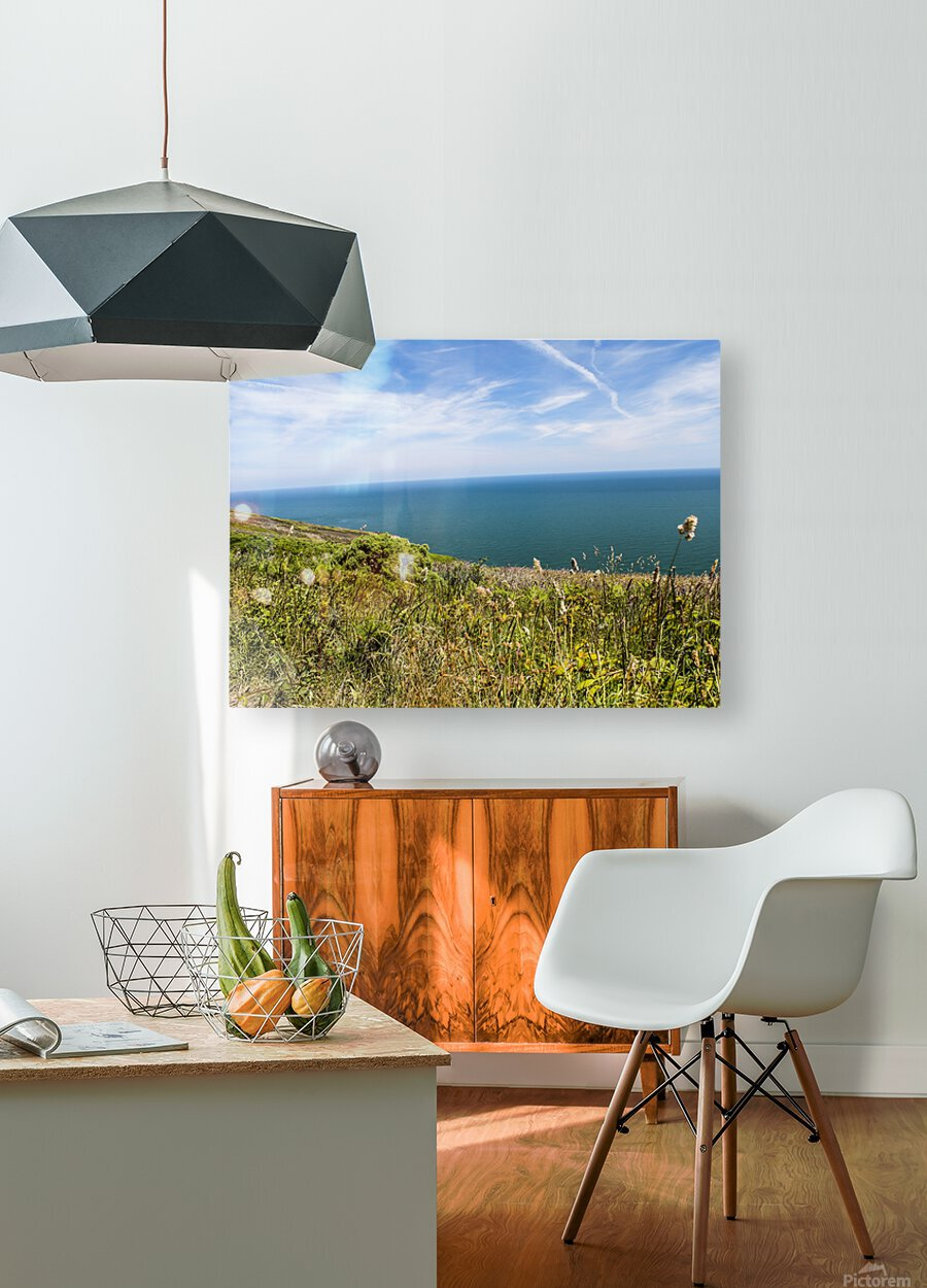 Howth Ireland II  HD Metal print with Floating Frame on Back