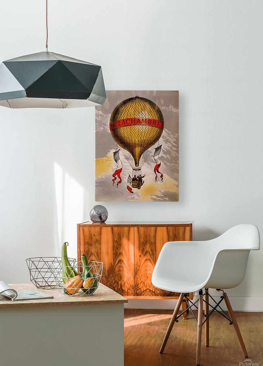 Lachambre Balloon  HD Metal print with Floating Frame on Back