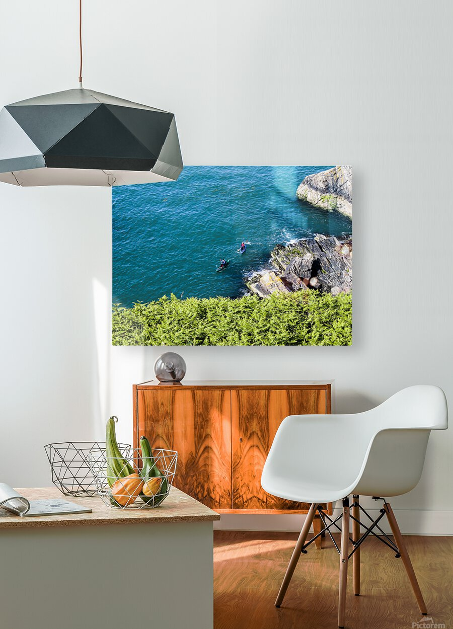 Adventure in Howth Ireland  HD Metal print with Floating Frame on Back