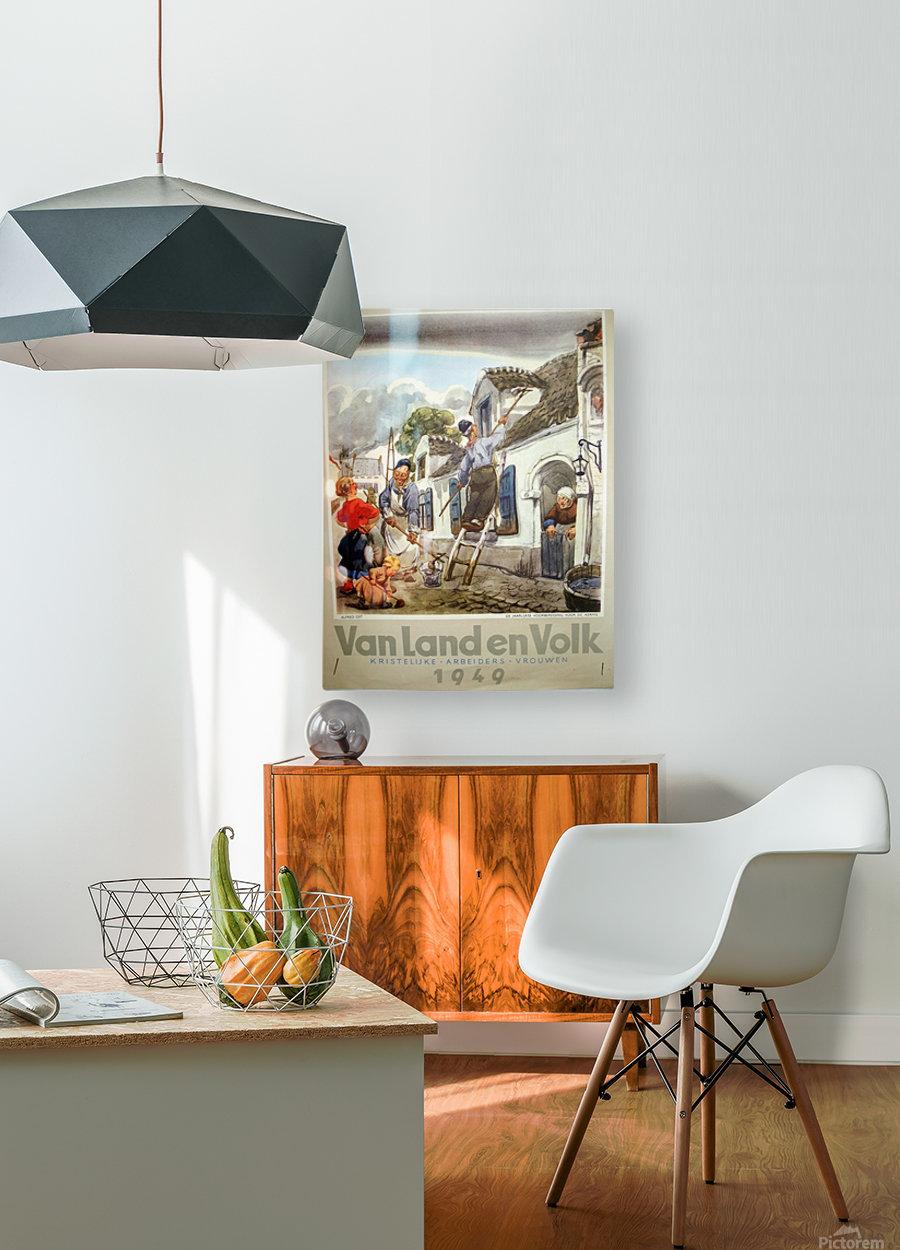 VonLandenVolk  HD Metal print with Floating Frame on Back