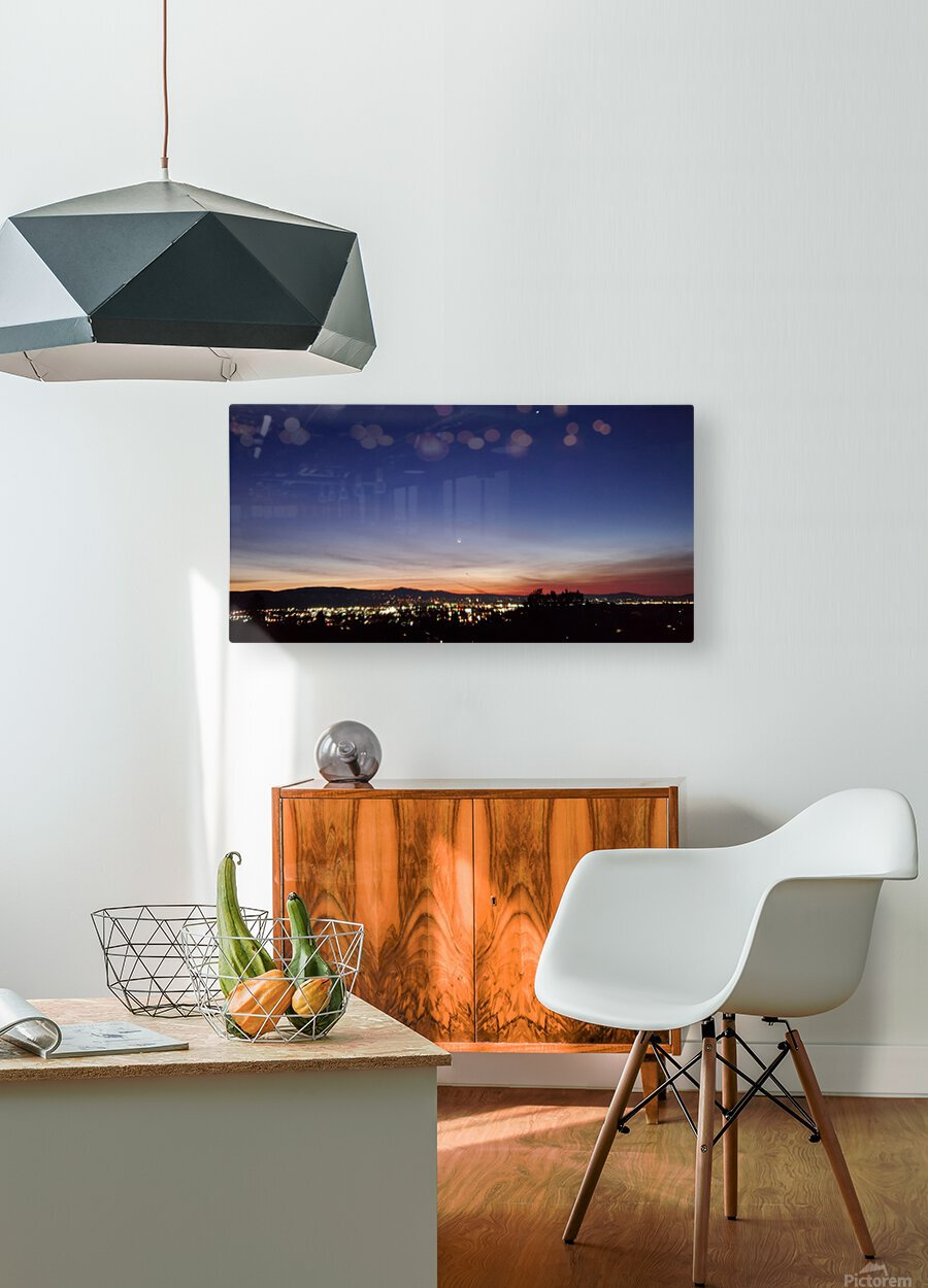 Daybreak  HD Metal print with Floating Frame on Back