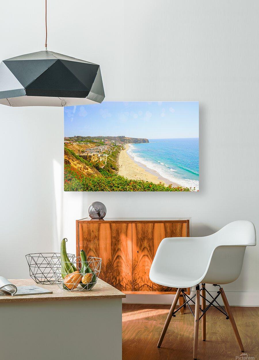 Beautiful Coastal View Newport Beach California 2 of 2  HD Metal print with Floating Frame on Back