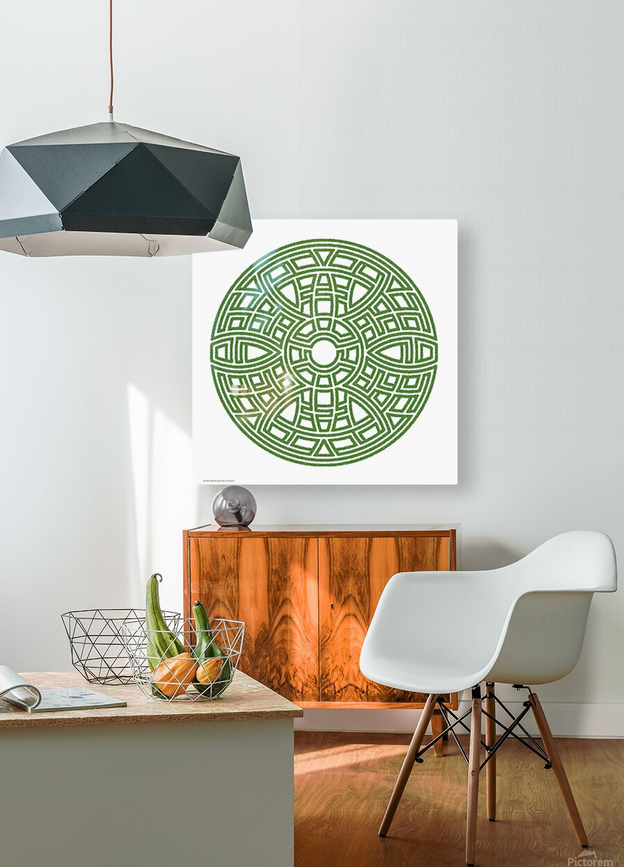 Maze 4802  HD Metal print with Floating Frame on Back