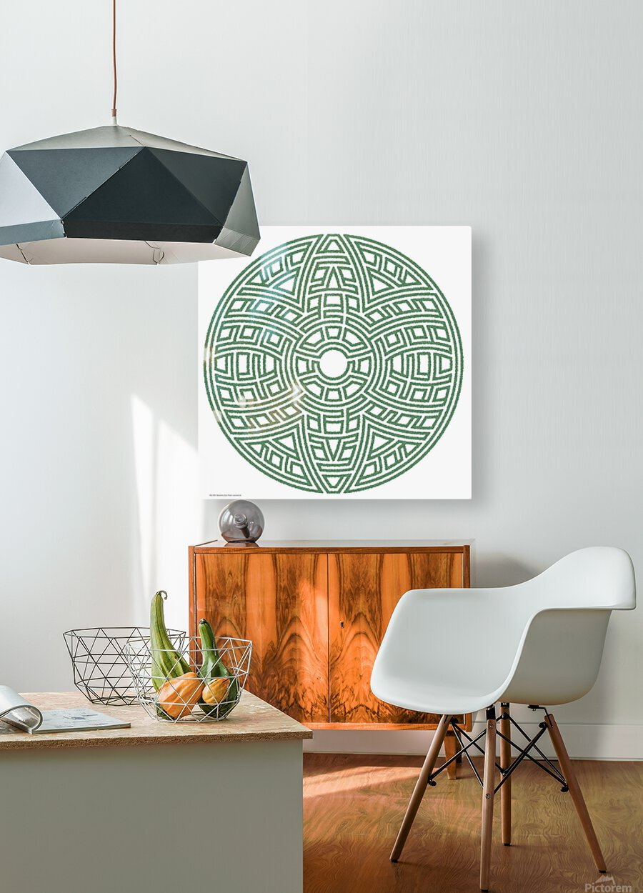 Maze 4804  HD Metal print with Floating Frame on Back