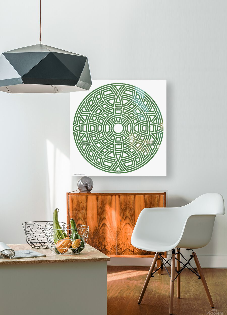 Maze 4801  HD Metal print with Floating Frame on Back