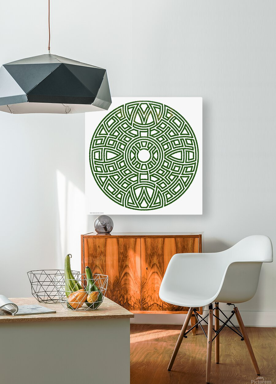 Maze 4811  HD Metal print with Floating Frame on Back