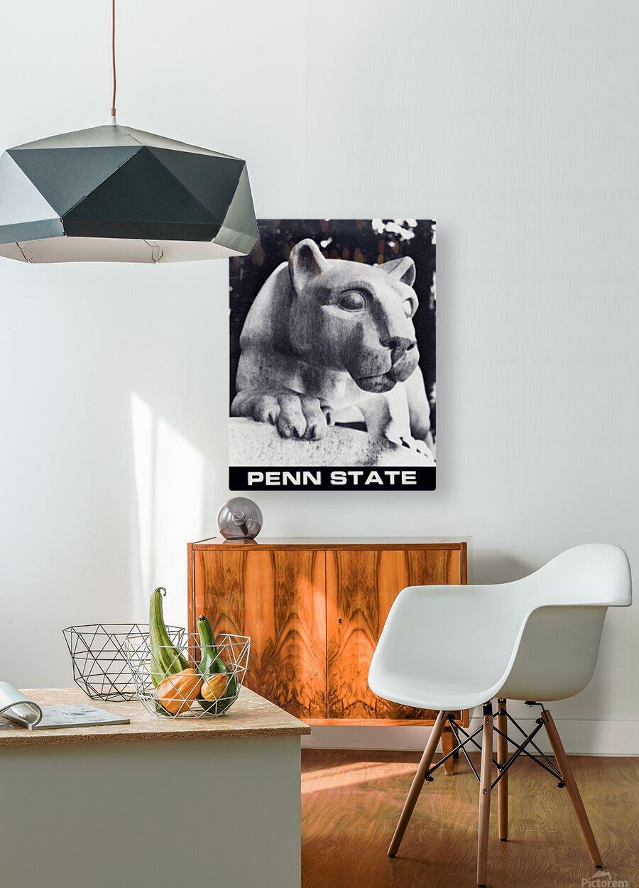 1988 Penn State Nittany Lion Shrine Art  HD Metal print with Floating Frame on Back