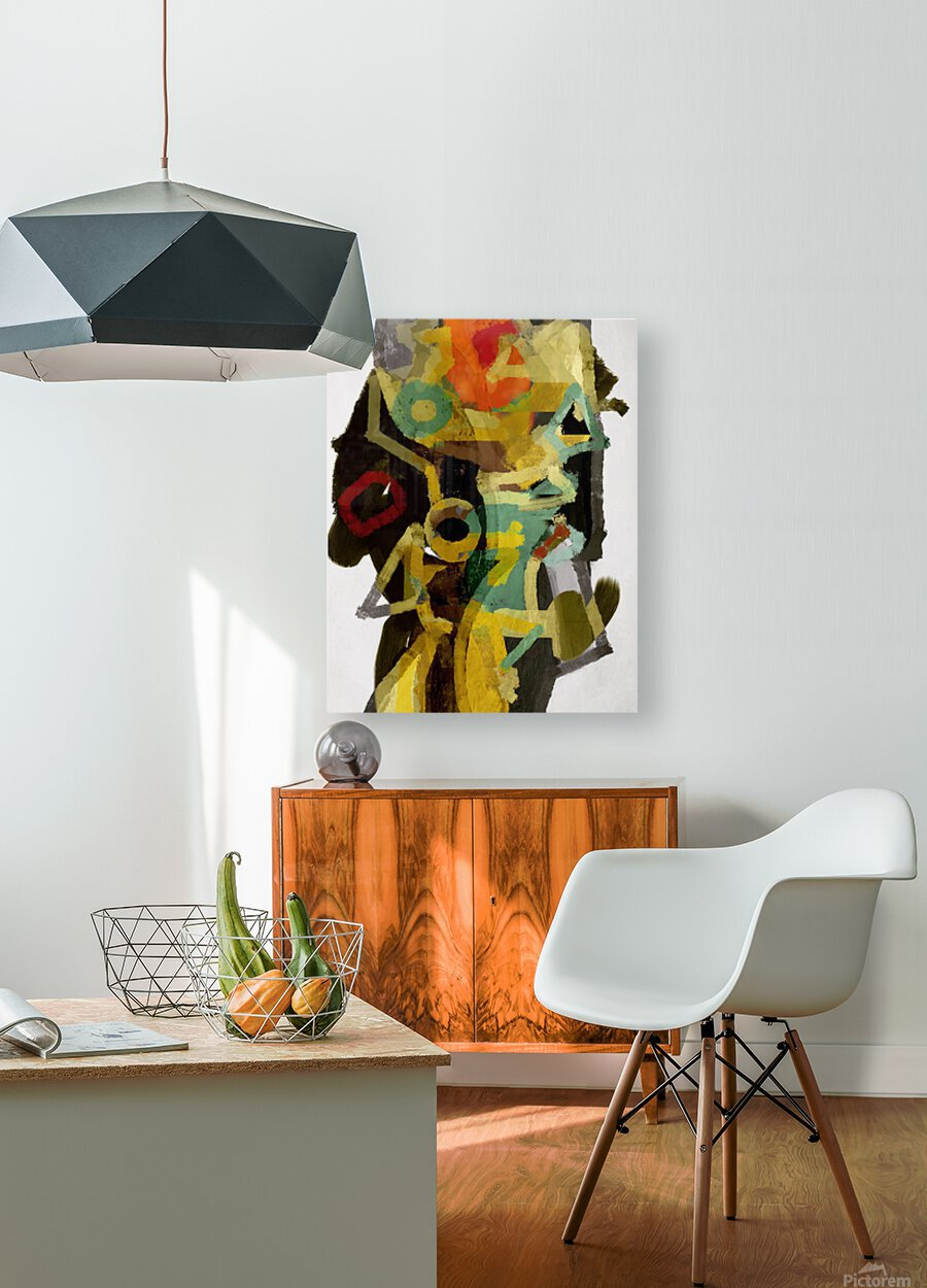 Totem  HD Metal print with Floating Frame on Back
