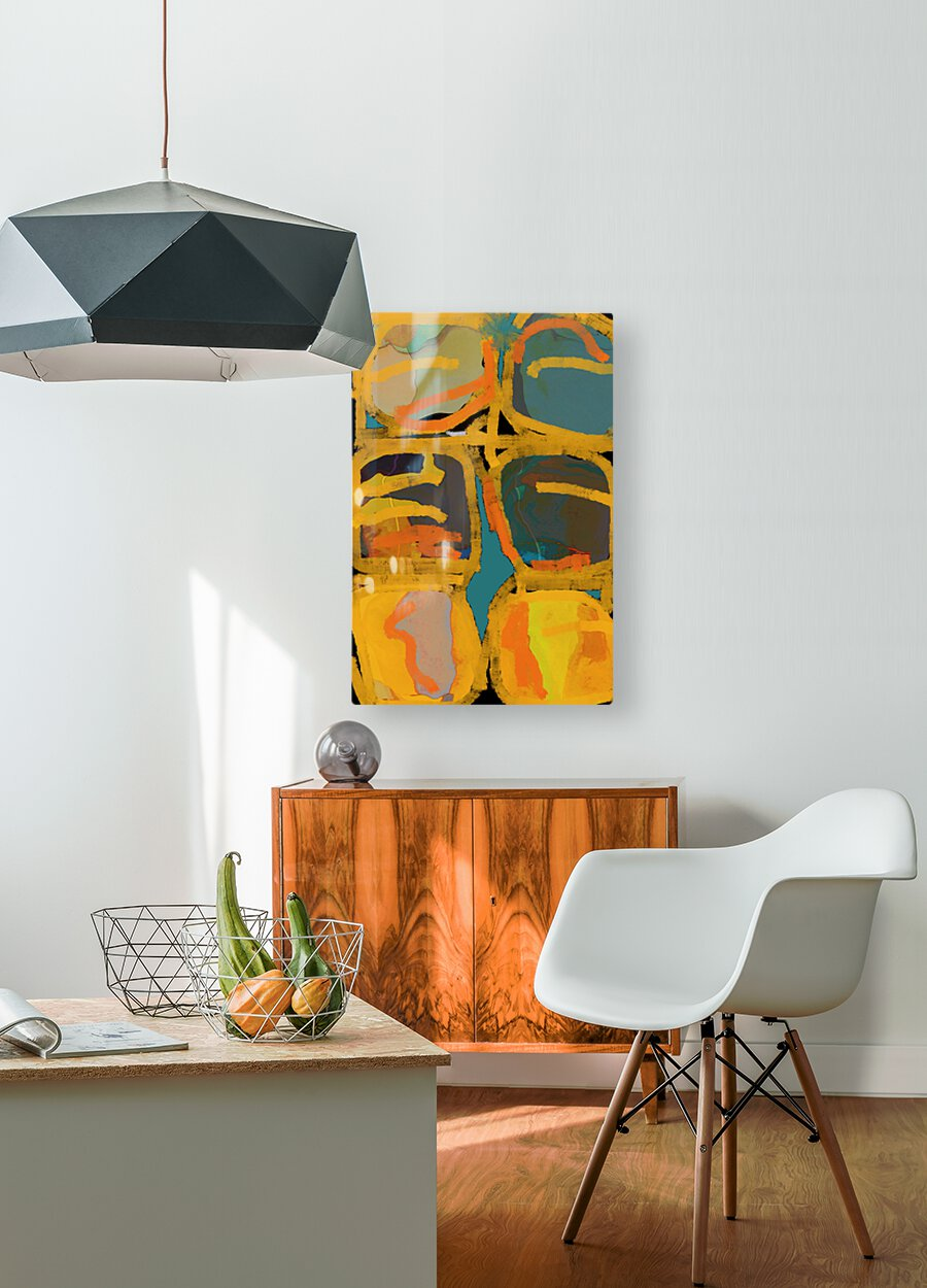 Folie Douce  HD Metal print with Floating Frame on Back