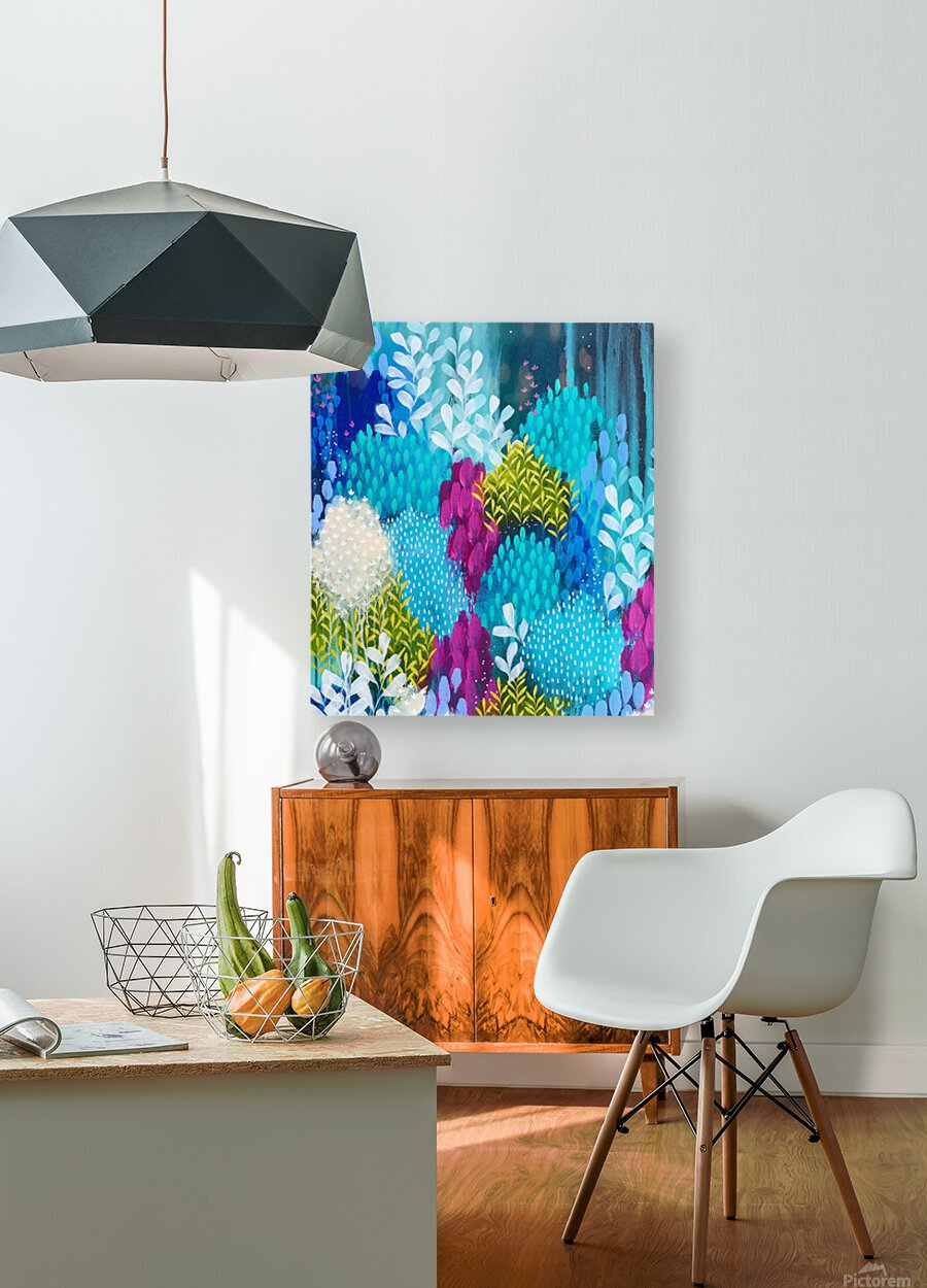 Wanderer  HD Metal print with Floating Frame on Back
