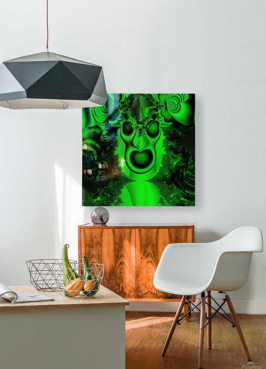 High Shaman  HD Metal print with Floating Frame on Back