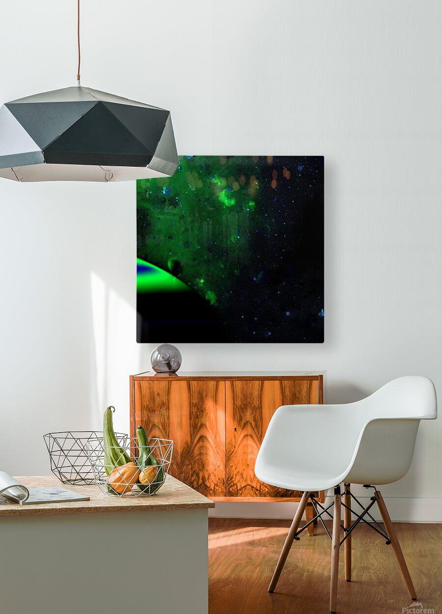 kosmic  HD Metal print with Floating Frame on Back