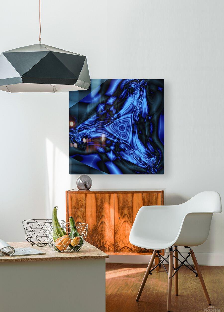 Keta Mind  HD Metal print with Floating Frame on Back