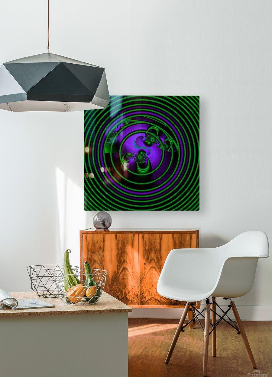 SETI Transmission  HD Metal print with Floating Frame on Back