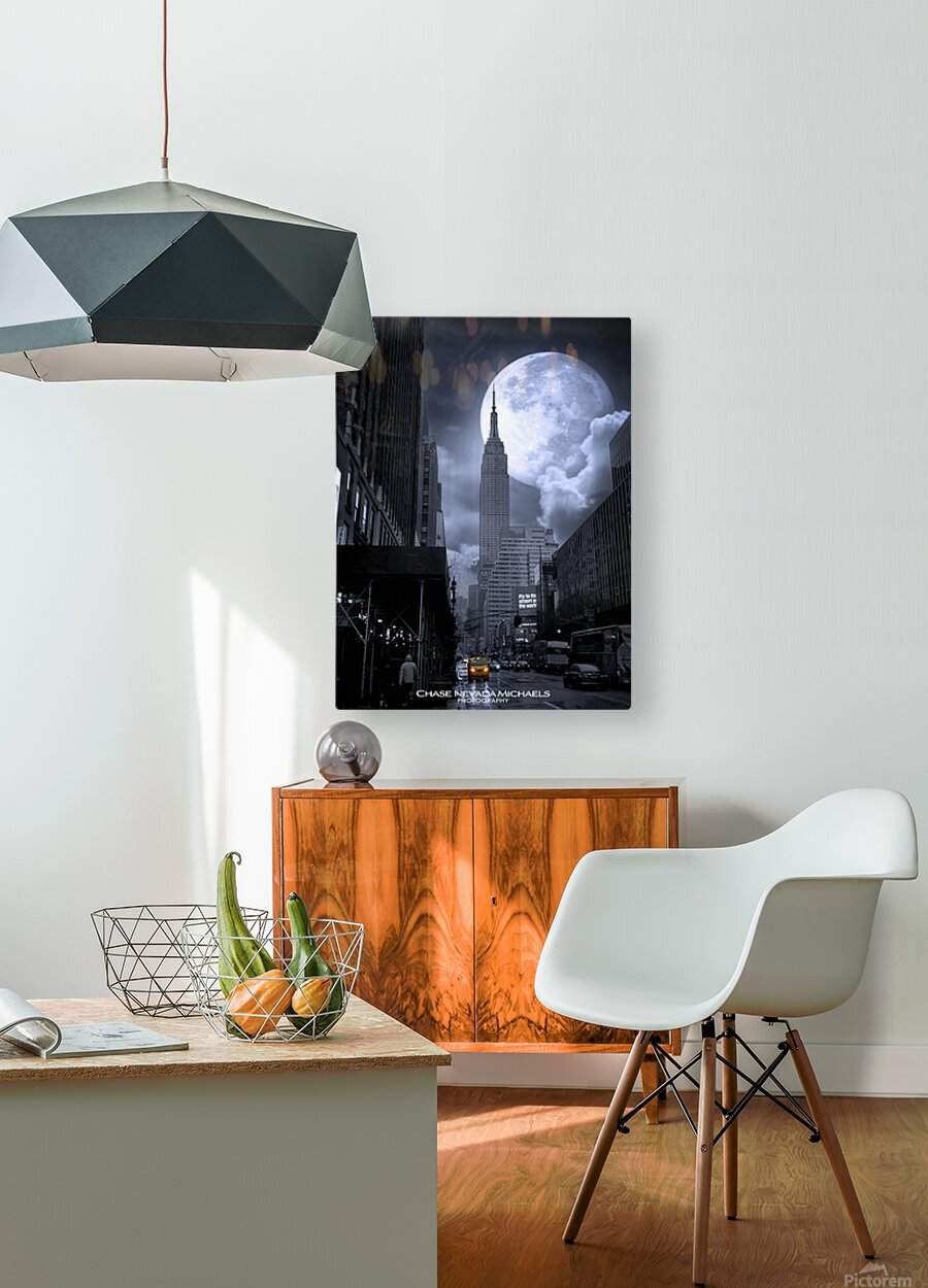 Empire2  HD Metal print with Floating Frame on Back
