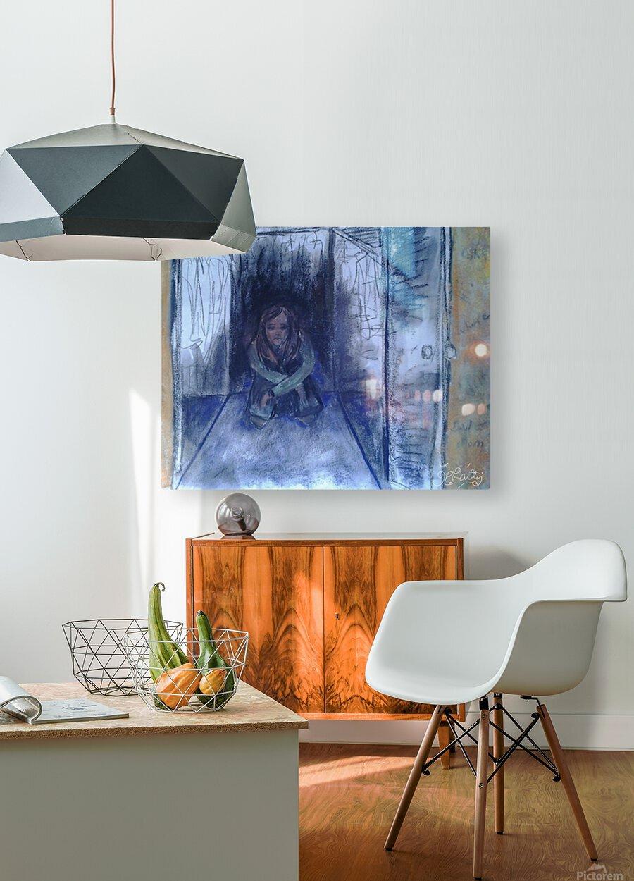 The Shame Closet  HD Metal print with Floating Frame on Back