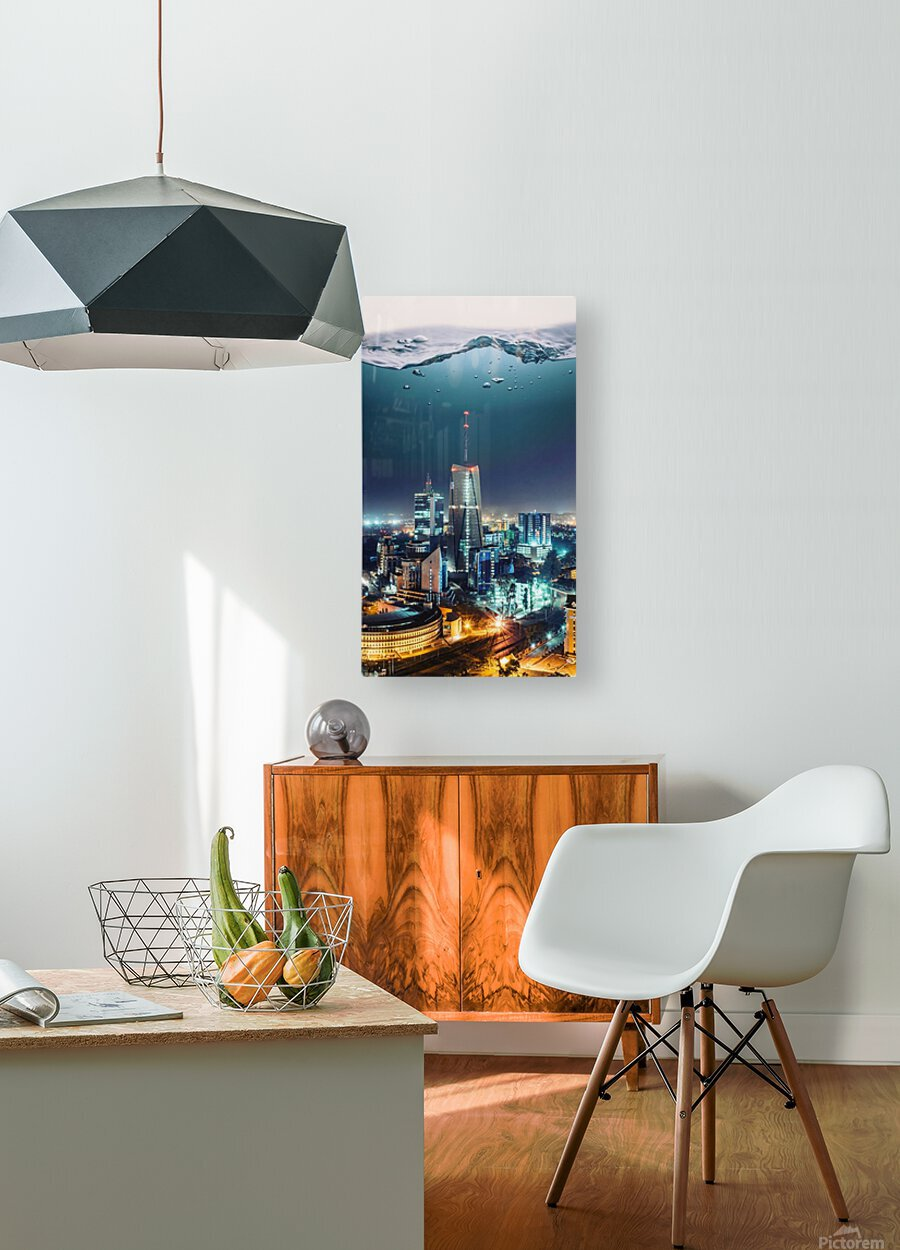 Nairobi  HD Metal print with Floating Frame on Back