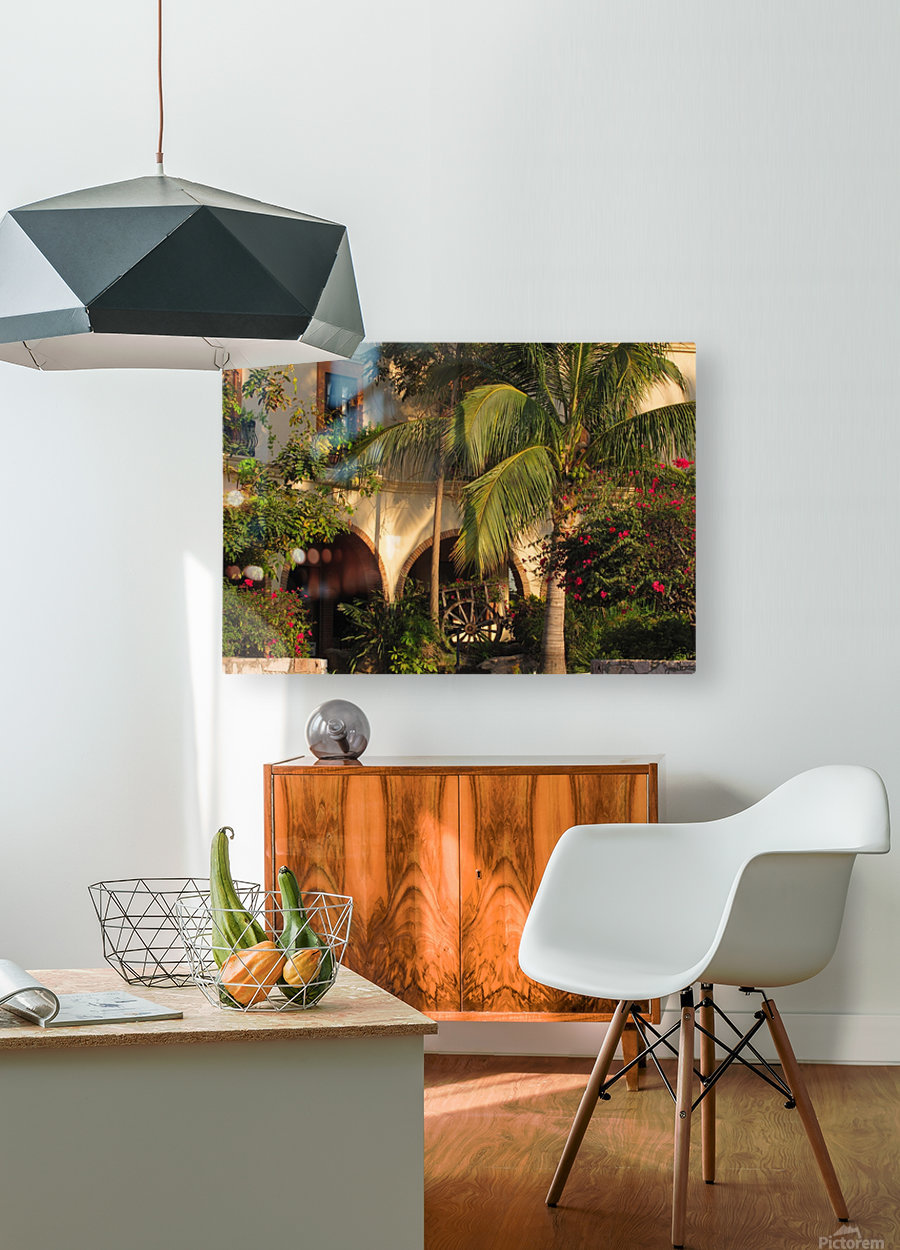 Lush and Beautiful   HD Metal print with Floating Frame on Back