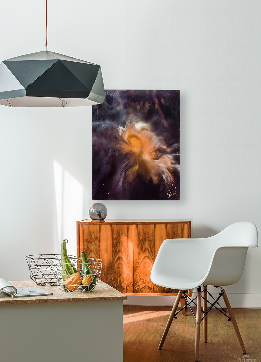 Painting The Heavens  HD Metal print with Floating Frame on Back