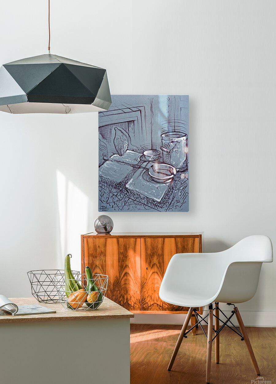 Drenthe Corner   HD Metal print with Floating Frame on Back