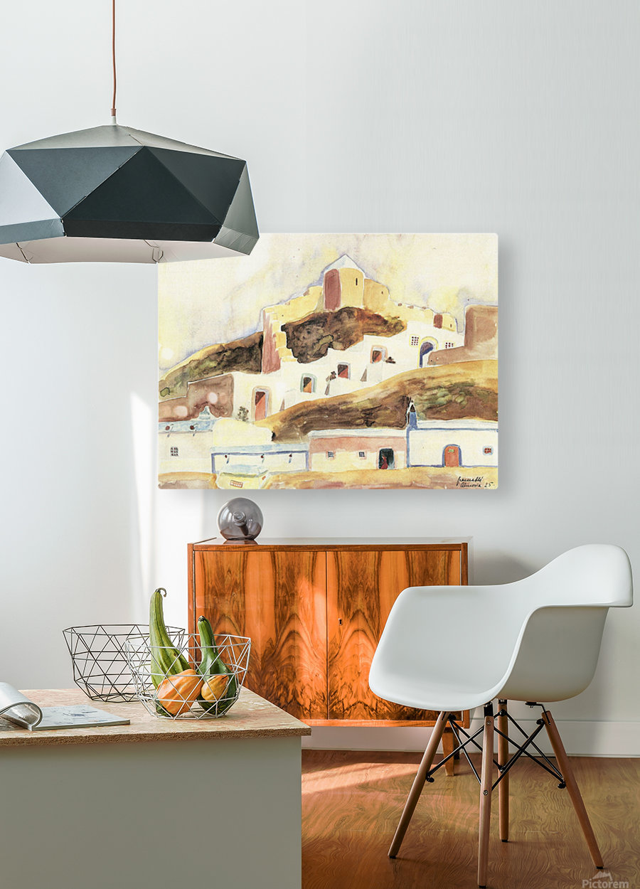 Almeria II by Walter Gramatte  HD Metal print with Floating Frame on Back