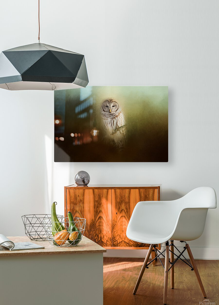 In The Quiet  HD Metal print with Floating Frame on Back