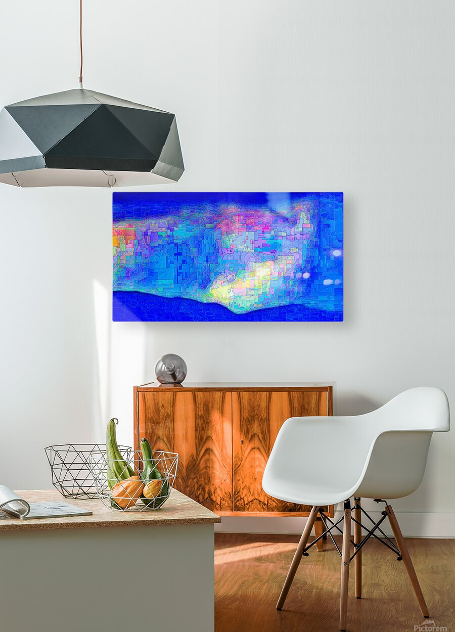 Calm Breeze  HD Metal print with Floating Frame on Back