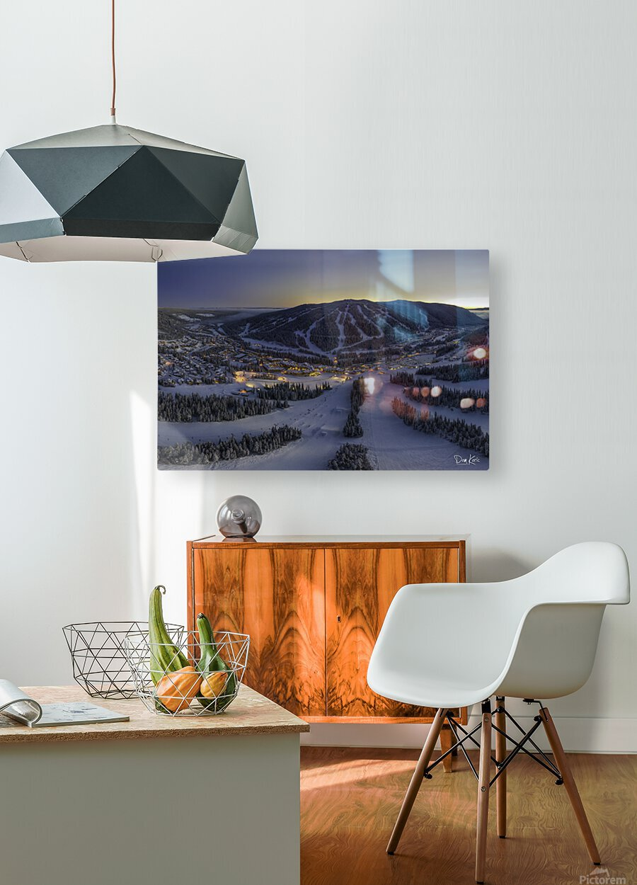 twilight jan 2020  HD Metal print with Floating Frame on Back