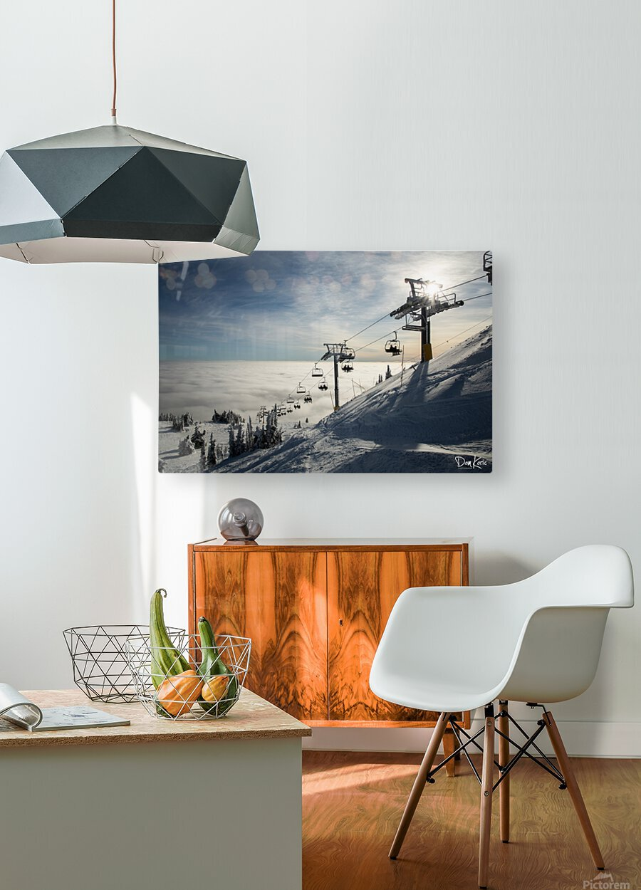 Rising Action  HD Metal print with Floating Frame on Back