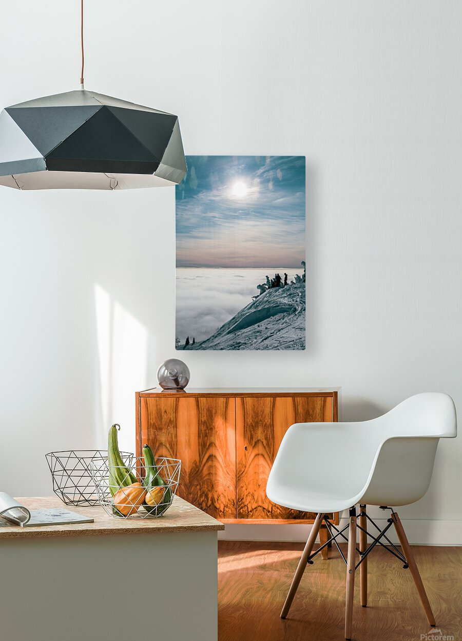 Soft Illumination   HD Metal print with Floating Frame on Back