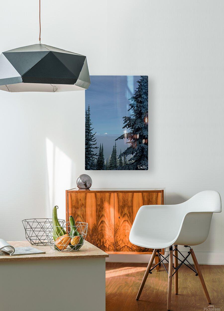 Dec 31 Print 25  HD Metal print with Floating Frame on Back