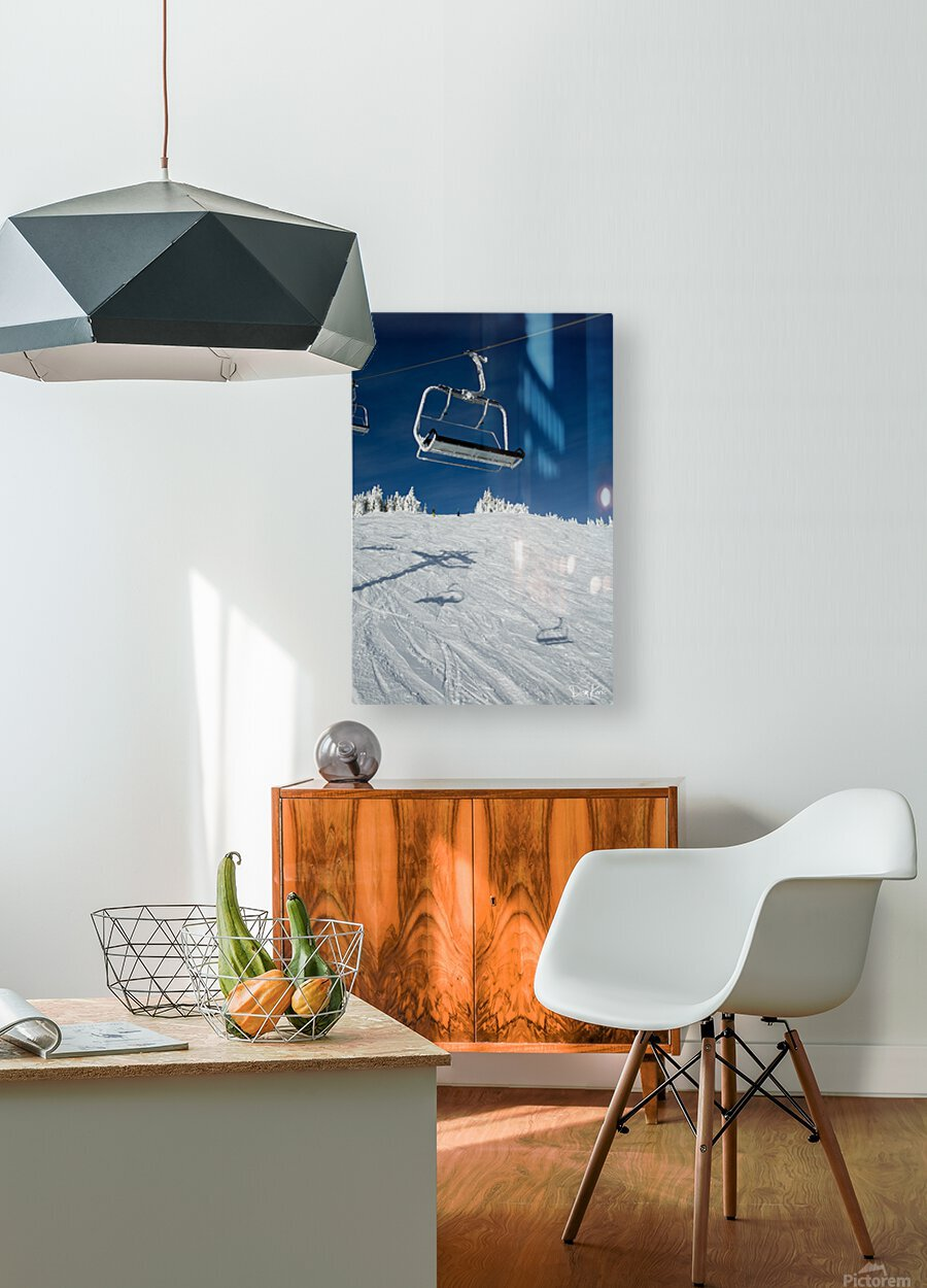 Suspended Prolonging  HD Metal print with Floating Frame on Back