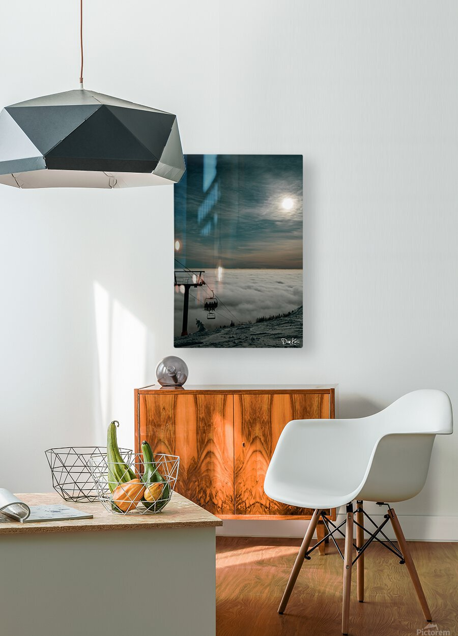 Rising Above  HD Metal print with Floating Frame on Back