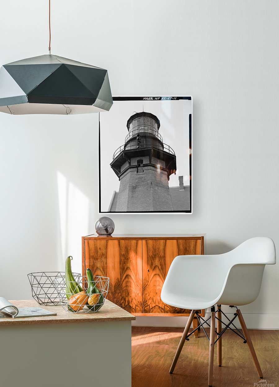 Block Island Southeast Light (Detail)  HD Metal print with Floating Frame on Back