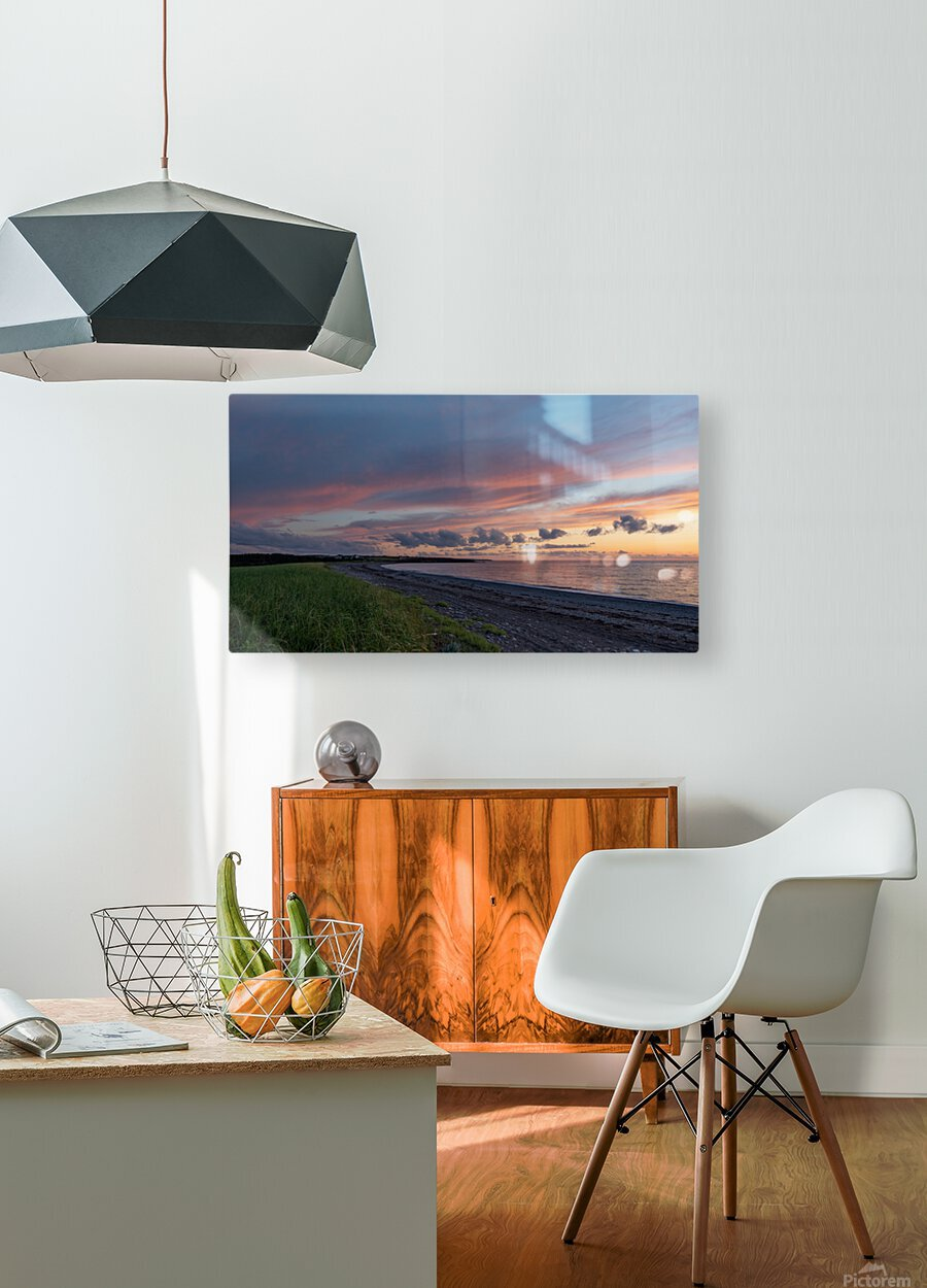 Dreams of Petit Etang  HD Metal print with Floating Frame on Back