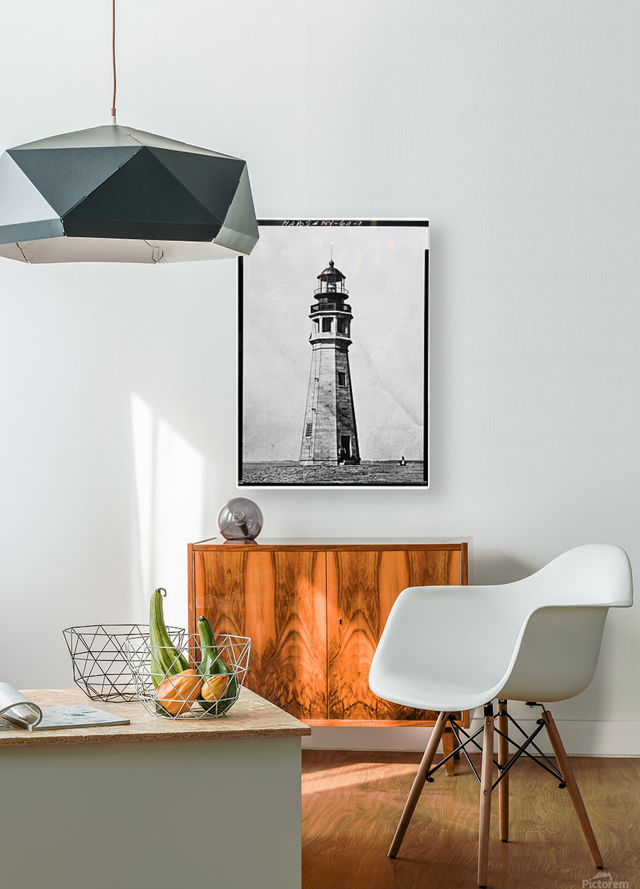 Buffalo Lighthouse, New York  HD Metal print with Floating Frame on Back