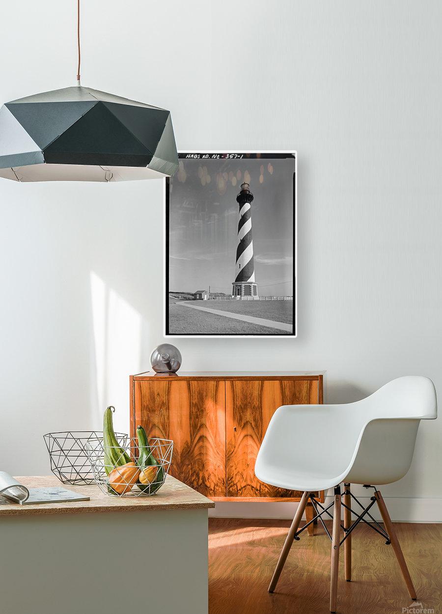 Cape Hatteras Lighthouse, North Carolina  HD Metal print with Floating Frame on Back