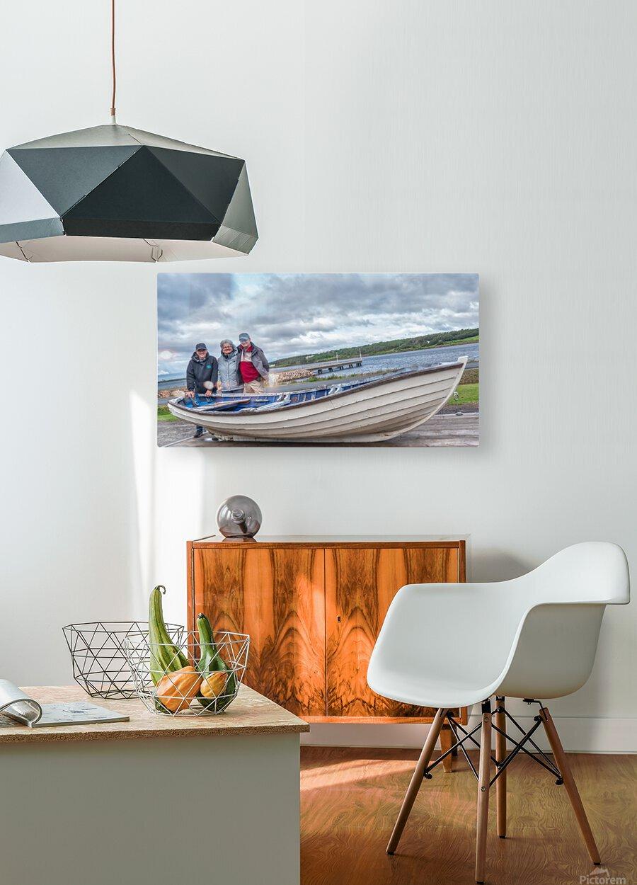 Les Warrecks  HD Metal print with Floating Frame on Back