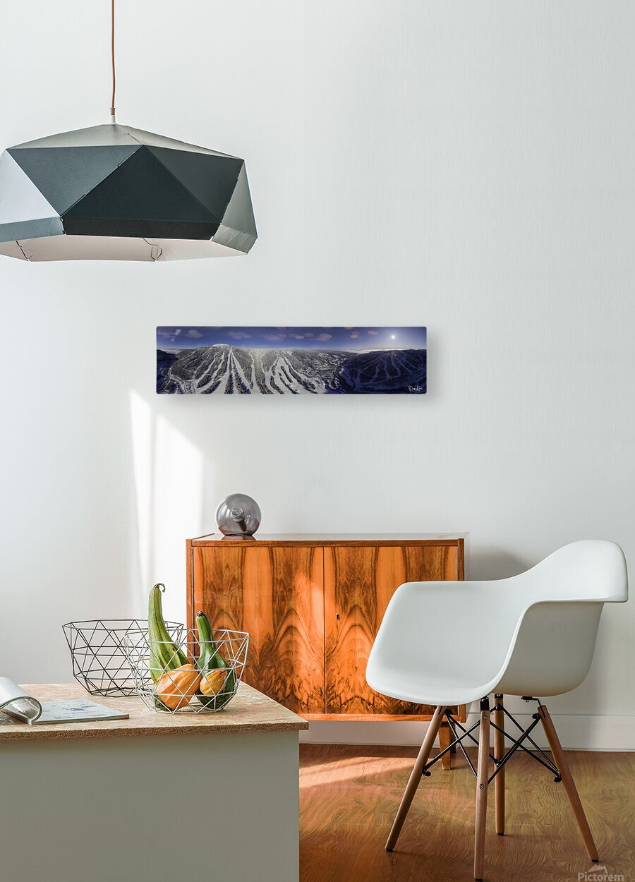 Mid Valley  HD Metal print with Floating Frame on Back