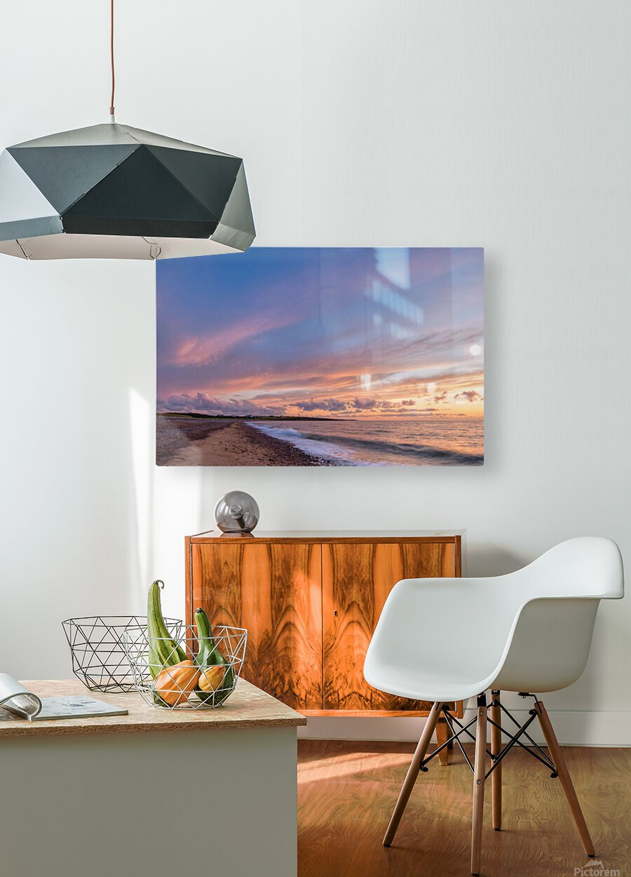 Magic in the Skies  HD Metal print with Floating Frame on Back
