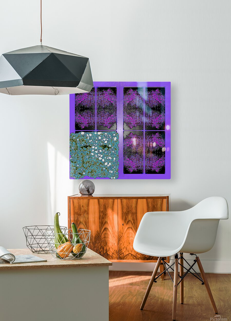 Spiritual Brainwaves  HD Metal print with Floating Frame on Back